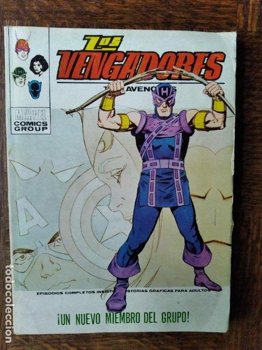 LOS VENGADORES V.1 Nº 51 - TACO VERTICE (Tebeos y Comics - Vértice - Vengadores)