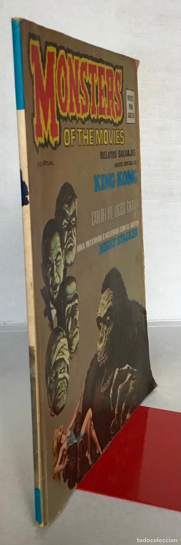 Cómics: MONSTERS OF THE MOVIES. Nº 1. RELATOS SALVAJES. NÚMERO ESPECIAL CON KING KONG. 1974. - Foto 2 - 24630331