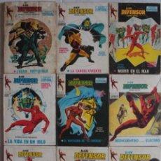 Cómics: LOTE DE 9 COMICS DAN DEFENSOR / Nº 12-15-25-28-32-38-43-47-48 / POCKET / VERTICE - REF.247. Lote 287439623