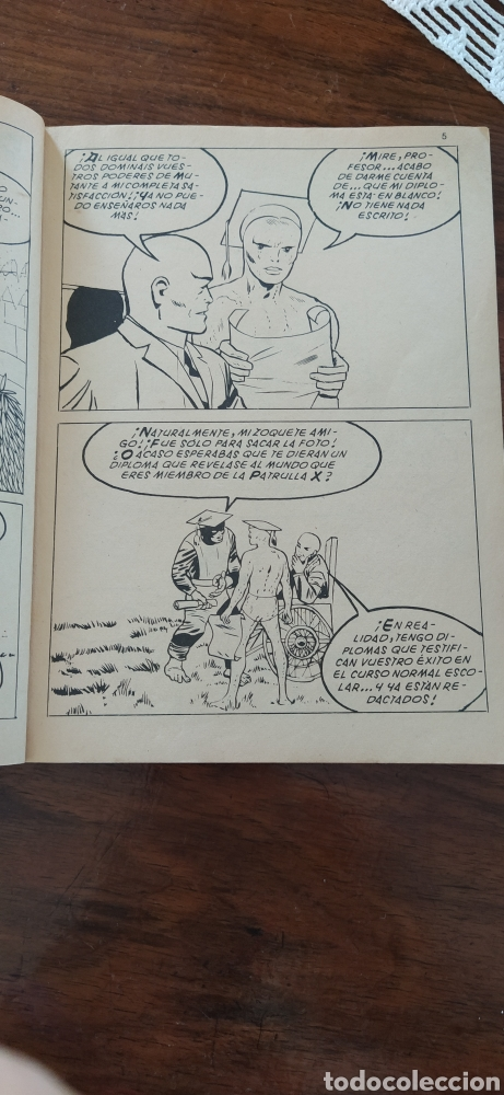 Cómics: Patrulla X el terrible superhombre - Foto 3 - 287440313