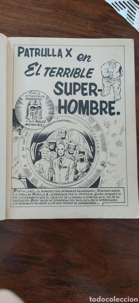 Cómics: Patrulla X el terrible superhombre - Foto 4 - 287440313