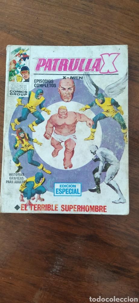 PATRULLA X EL TERRIBLE SUPERHOMBRE (Tebeos y Comics - Vértice - Patrulla X)