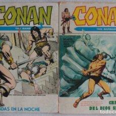 Cómics: LOTE DE 2 COMICS CONAN EL BARBARO / Nº 2-12 / POCKET / VÉRTICE - REF.250. Lote 287442238