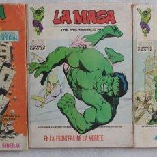 Cómics: LOTE DE 3 COMICS LA MASA / Nº 16-29-34 / POCKET / VÉRTICE - REF.251. Lote 287442613