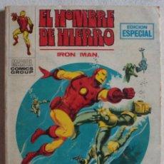 Cómics: EL HOMBRE DE HIERRO / Nº 19 / LAS GARRAS DEL FUSTIGADOR / POCKET / VÉRTICE - REF.252. Lote 287443383