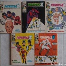 Cómics: LOTE DE 5 COMICS PATRULLA X / Nº 1-2-3-4-5 / POCKET / VÉRTICE - REF.255. Lote 287444938