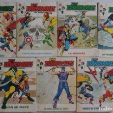 Cómics: LOTE DE 7 COMICS LOS VENGADORES / Nº 31-47-48-49-50-51-52 / POCKET / VÉRTICE - REF.259. Lote 287454503