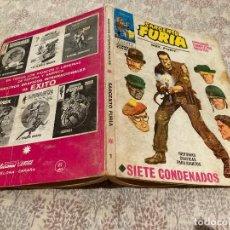 Cómics: SARGENTO FURIA VOL1 - Nº1 SIETE CONDENADOS . EDICIONES VERTICE 1972. Lote 287651253