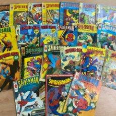 Cómics: LOTE DE 23 CÓMICS SPIDERMAN MARVEL/ EDICIONES VÉRTICE AÑOS 80. Lote 287658888