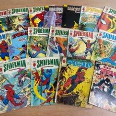 Cómics: LOTE DE 17 CÓMICS SPIDERMAN MARVEL/ EDICIONES VÉRTICE AÑOS 80/90. Lote 287661048