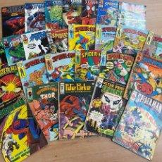 Cómics: LOTE DE 26 CÓMICS SPIDERMAN MARVEL/ EDICIONES VÉRTICE/ FORUM AÑOS 80-90. Lote 287663278