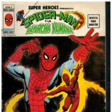 Cómics: SUPER HEROES V.2 Nº 9. SPIDER-MAN Y LA ANTORCHA HUMANA. VÉRTICE.. Lote 287679548