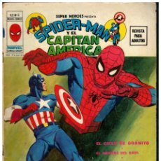 Cómics: SUPER HEROES V.2 Nº 8 SPIDER-MAN Y EL CAPITAN AMERICA. VÉRTICE. BUENO.. Lote 287679928