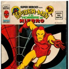 Cómics: SUPER HEROES V.2 Nº 5 SPIDER-MAN Y EL HOMBRE DE HIERRO. VÉRTICE. BUENO.. Lote 287680328