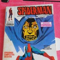 Cómics: SPIDERMAN 3 VOLUMEN 1 COMICS VÉRTICE DIFÍCIL Y EN BUEN ESTADO 1973. Lote 287746533