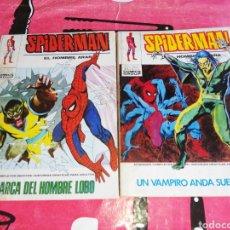 Cómics: SPIDERMAN 45 Y 56 VOLUMEN 1 COMICS VÉRTICE EN BUEN ESTADO. Lote 287750218
