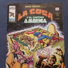 Cómics: SUPER HEROES VOL. 2 # 103 (VERTICE) - LA COSA Y EL CAPITAN AMERICA - 1979. Lote 287786873