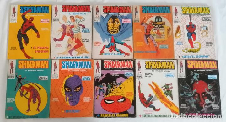 Cómics: MARVEL SPIDERMAN V.1 ¡COLECCIÓN COMPLETA! 1-59 VERTICE AÑOS 60/70 ¡GRAN OPORTUNIDAD! - Foto 8 - 287791383