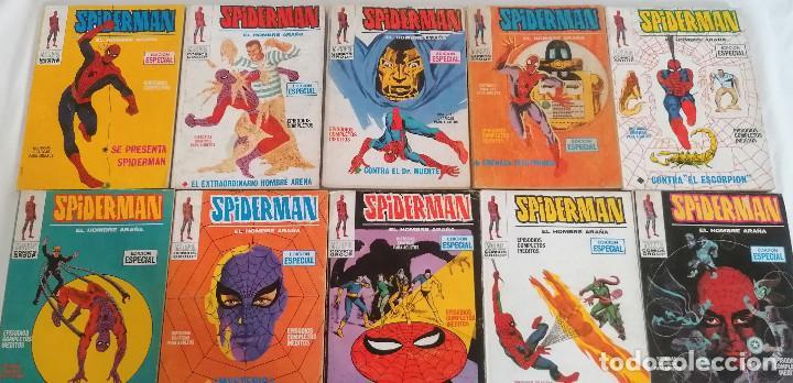 Cómics: MARVEL SPIDERMAN V.1 ¡COLECCIÓN COMPLETA! 1-59 VERTICE AÑOS 60/70 ¡GRAN OPORTUNIDAD! - Foto 9 - 287791383