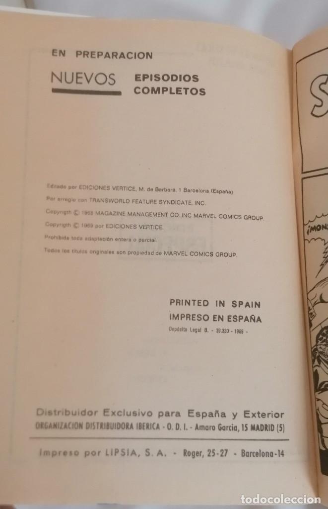 Cómics: MARVEL SPIDERMAN V.1 ¡COLECCIÓN COMPLETA! 1-59 VERTICE AÑOS 60/70 ¡GRAN OPORTUNIDAD! - Foto 11 - 287791383