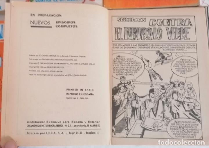 Cómics: MARVEL SPIDERMAN V.1 ¡COLECCIÓN COMPLETA! 1-59 VERTICE AÑOS 60/70 ¡GRAN OPORTUNIDAD! - Foto 14 - 287791383
