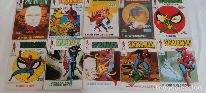 Cómics: MARVEL SPIDERMAN V.1 ¡COLECCIÓN COMPLETA! 1-59 VERTICE AÑOS 60/70 ¡GRAN OPORTUNIDAD! - Foto 30 - 287791383