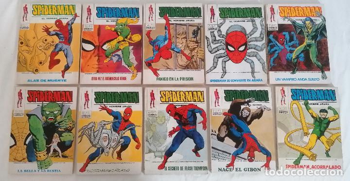 Cómics: MARVEL SPIDERMAN V.1 ¡COLECCIÓN COMPLETA! 1-59 VERTICE AÑOS 60/70 ¡GRAN OPORTUNIDAD! - Foto 34 - 287791383