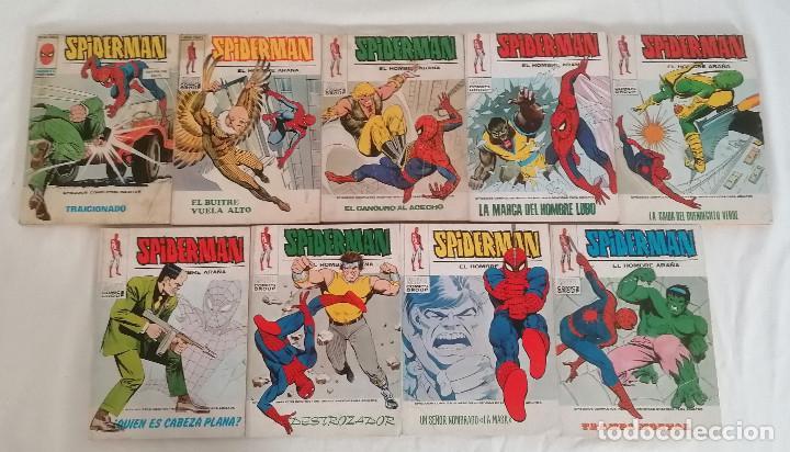 Cómics: MARVEL SPIDERMAN V.1 ¡COLECCIÓN COMPLETA! 1-59 VERTICE AÑOS 60/70 ¡GRAN OPORTUNIDAD! - Foto 41 - 287791383