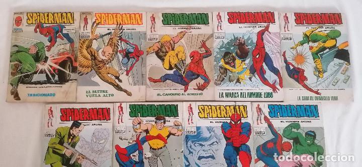 Cómics: MARVEL SPIDERMAN V.1 ¡COLECCIÓN COMPLETA! 1-59 VERTICE AÑOS 60/70 ¡GRAN OPORTUNIDAD! - Foto 42 - 287791383