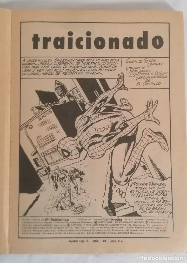 Cómics: MARVEL SPIDERMAN V.1 ¡COLECCIÓN COMPLETA! 1-59 VERTICE AÑOS 60/70 ¡GRAN OPORTUNIDAD! - Foto 46 - 287791383
