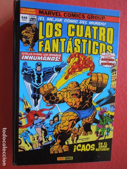 LOS CUATRO FANTASTICOS !CAOS EN EL GRAN REFUGIO!TOMO 648 PAGINAS ! MARVEL PANINI- EL MEJOR COMIC DEL (Tebeos y Comics - Vértice - 4 Fantásticos)