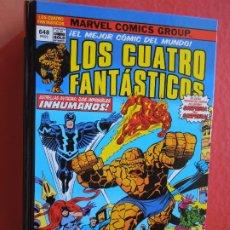 Cómics: LOS CUATRO FANTASTICOS !CAOS EN EL GRAN REFUGIO!TOMO 648 PAGINAS ! MARVEL PANINI- EL MEJOR COMIC DEL. Lote 287826618