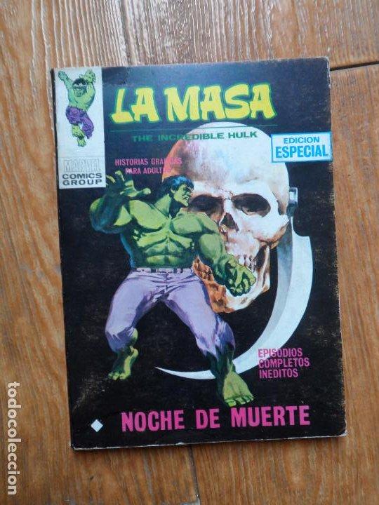 LA MASA HULK Nº 15 EDICIONES VERTICE VOLUMEN 1 (Tebeos y Comics - Vértice - La Masa)