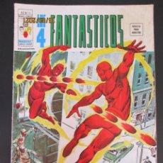Cómics: 4 FANTASTICOS, LOS (1974, VERTICE) -V.2- 13 · VII-1975 · JOHNNY STORM, LA ANTORCHA HUMANA. Lote 287938413