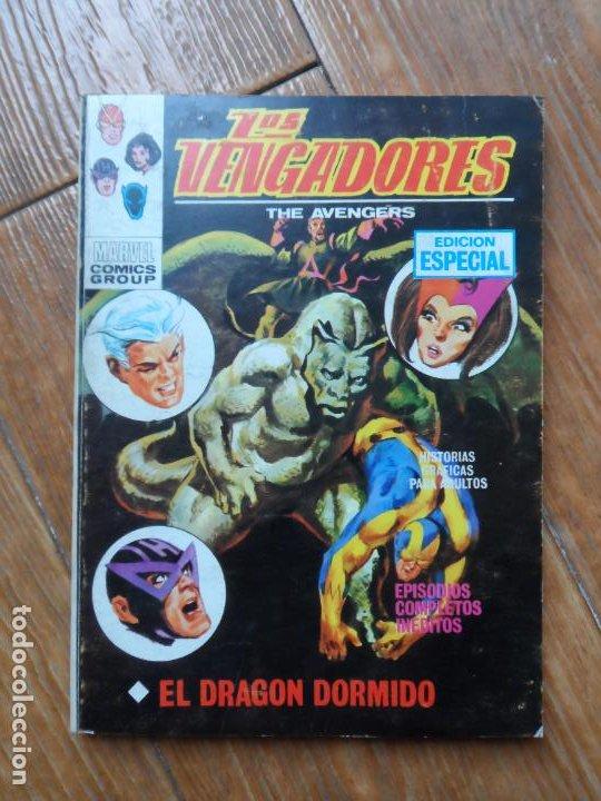 LOS VENGADORES Nº 18 VERTICE VOLUMEN 1 (Tebeos y Comics - Vértice - Vengadores)