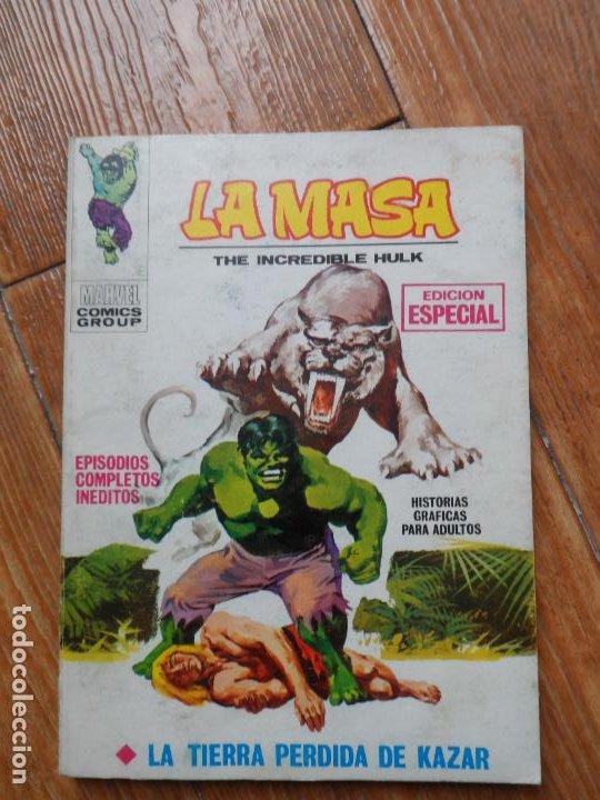 LA MASA HULK Nº 4 EDICIONES VERTICE VOLUMEN 1 (Tebeos y Comics - Vértice - La Masa)