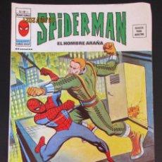 """Cómics: SPIDERMAN (1975, VERTICE) -V 3- 21 · VIII-1977 · """"¡EL NACIMIENTO DE UN SUPER HEROE!"""". Lote 287976528"""