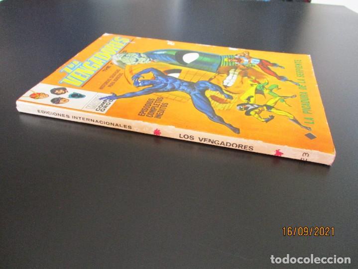 Cómics: VENGADORES, LOS (1969, VERTICE) 33 · IV-1972 · LA PICADURA DE LA SERPIENTE - Foto 2 - 288020453