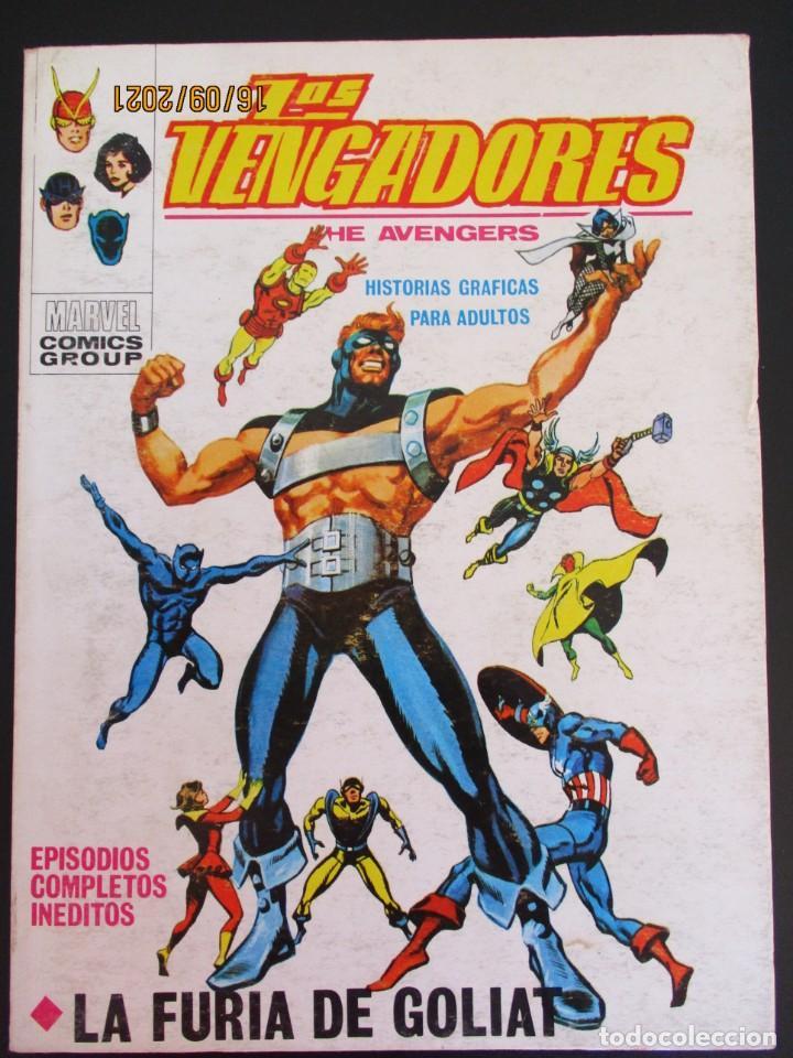 VENGADORES, LOS (1969, VERTICE) 29 · XII-1971 · LA FURIA DE GOLIAT (Tebeos y Comics - Vértice - Vengadores)