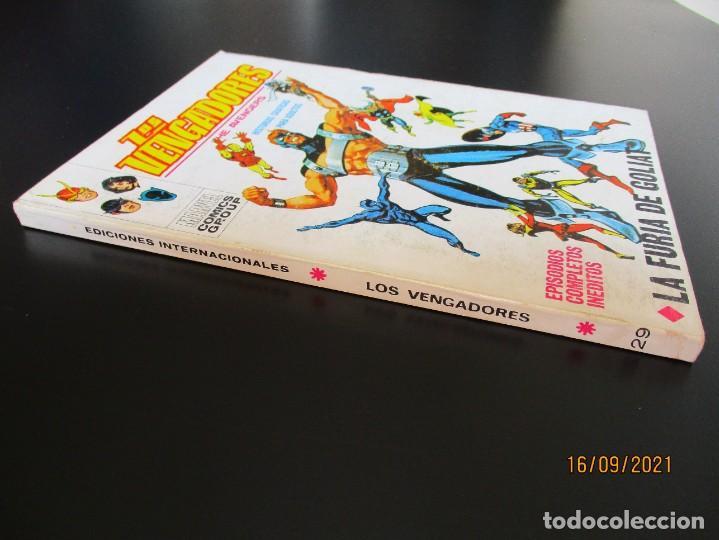 Cómics: VENGADORES, LOS (1969, VERTICE) 29 · XII-1971 · LA FURIA DE GOLIAT - Foto 2 - 288026213