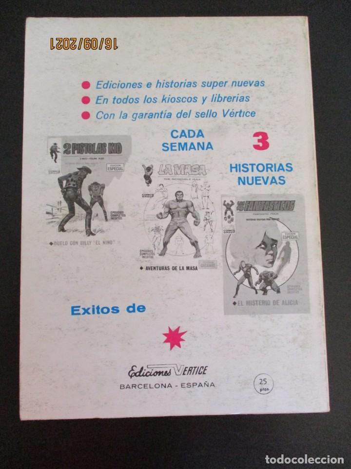 Cómics: VENGADORES, LOS (1969, VERTICE) 29 · XII-1971 · LA FURIA DE GOLIAT - Foto 3 - 288026213