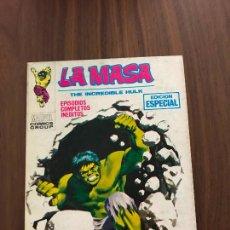 Comics : LA MASA Nº 12, 126 PÁGINAS, FALTA ÚLTIMA HOJA , EDITORIAL VÉRTICE. Lote 288032798