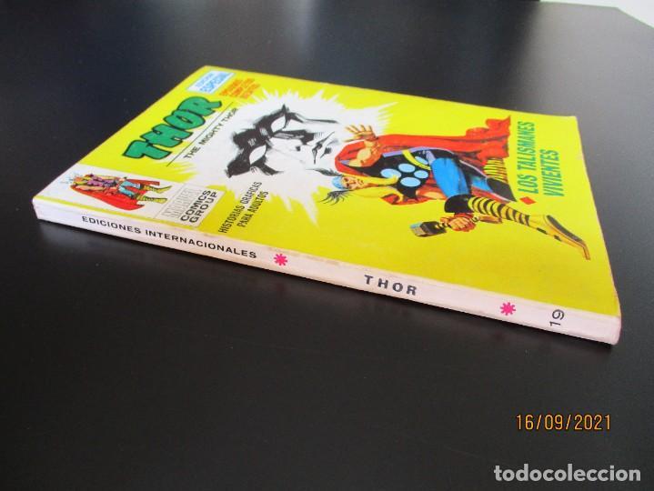 Cómics: THOR (1970, VERTICE) 19 · 1972 · LOS TALISMANES VIVIENTES - Foto 2 - 288042888
