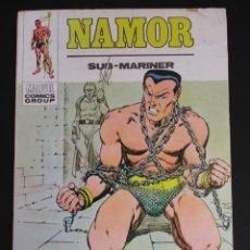 Cómics: NAMOR (1970, VERTICE) 32 · III-1974 · UN SUBMARINO DORADO. Lote 288053273