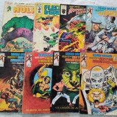 Cómics: LOTE 8 MUNDI COMICS VÉRTICE, HULK, RELATOS SALVAJES ARTES MARCIALES, MOTORISTA FANTASMA Y FLECHA VER. Lote 288203663