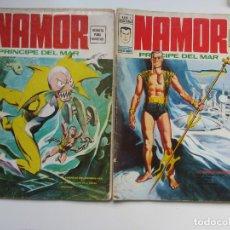 Cómics: NAMOR VOL.2 Nº 1 Y 2 (COL. COMPLETA COMPLETA- VERTICE 1974 ART LV. Lote 288232203