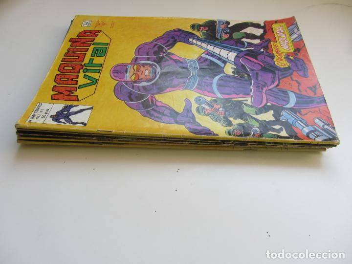 MAQUINA VITAL COMPLETA 6 Nº VERTICE MUNDI COMICS BUEN ESTADO ART LV (Tebeos y Comics - Vértice - Otros)