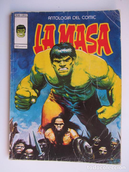 ANTOLOGIA DEL COMIC Nº 16 - LA MASA - MUNDI-COMICS - VERTICE RT LV (Tebeos y Comics - Vértice - La Masa)