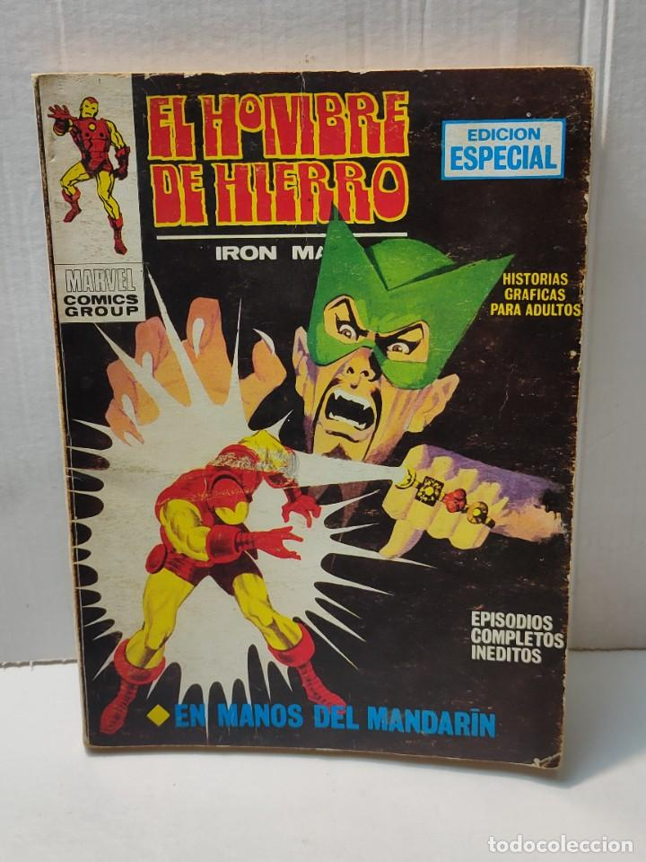 COMIC -EL HOMBRE DE HIERRO- EN MANOS DEL MANDARIN NÚMERO 4 DE 1969 VERTICE (Tebeos y Comics - Vértice - Hombre de Hierro)