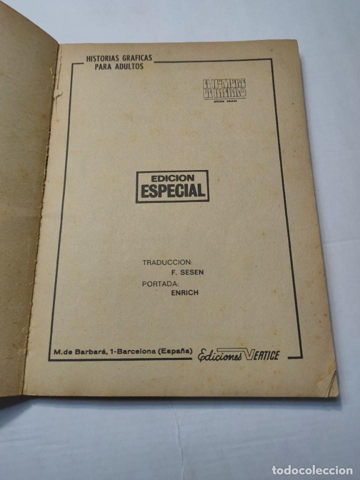 Cómics: Comic -EL HOMBRE DE HIERRO- En Manos del Mandarin número 4 de 1969 Vertice - Foto 2 - 288386288
